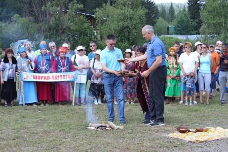 Шорский национальный праздник «Томазак — Пайрам — 2017»   (г.Мыски, п.Чувашка 1 июля 2017 г)