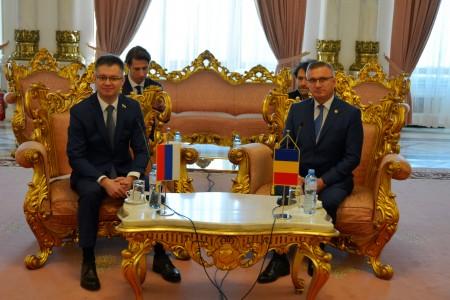 Рабочая встреча делегации Государственной Думы с коллегами-парламентариями из  Румынии (9-11 декабря 2019г)