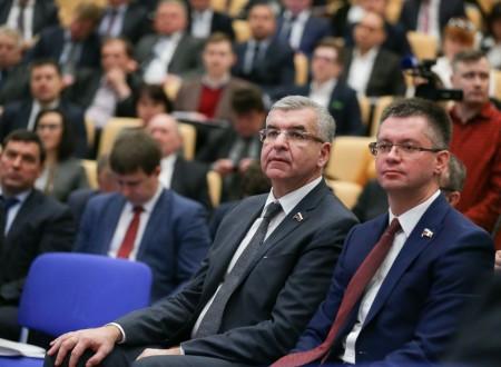 Парламентские слушания на тему «Комплексное развитие моногородов» (13.11.2017)