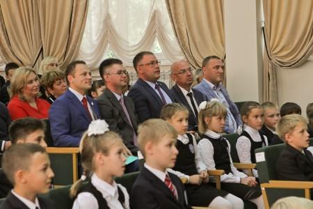 """МБОУ """"Лицей № 23"""". Открытие актового зала. (06.09.2017)"""