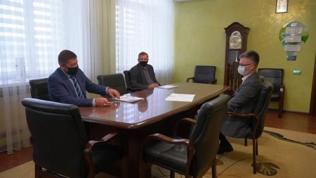 Рабочая поездка в Прокопьевск (06.11.2020)