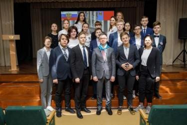 Встреча с учениками лицея № 23 (январь 2021г)